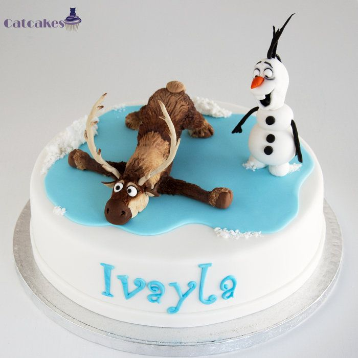 Frozen (disney) cake - by CatcakesMadrid @ CakesDecor.com ...