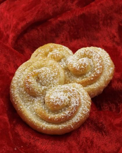 Almond Palmiers  #Christmas #baking #cookies
