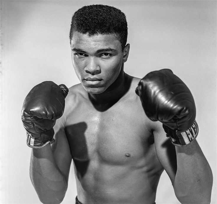 Cassius Clay, 20 year old heavyweight contender from Louisville, Kentucky, poses for the camera on May 17, 1962 in Long Island, New York.  Stanley Weston Archive via Getty Images