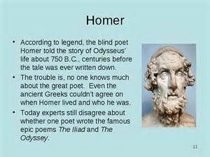 greek writer of the iliad