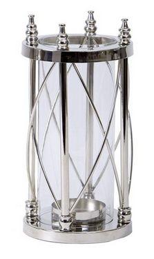 Regal Nickel Lantern - £80.00 - Hicks and Hicks