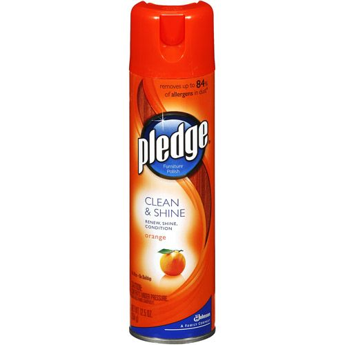 Pledge Orange Clean Amp Shine Furniture Polish Great For
