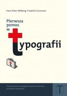 Okładka książki: Pierwsza pomoc w typografii