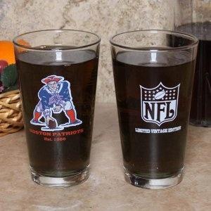 NFL Patriots Pint Glass 2 Pack $17