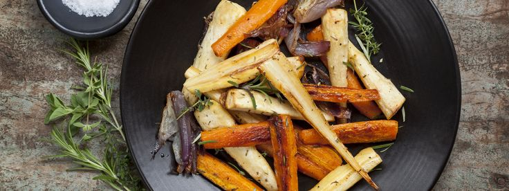 Sherry Roasted Root Vegetables