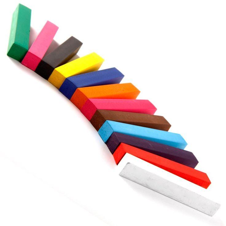 YOST-Kit 12 Kleur Haar Kleur Dye Tijdelijke Haar Krijt