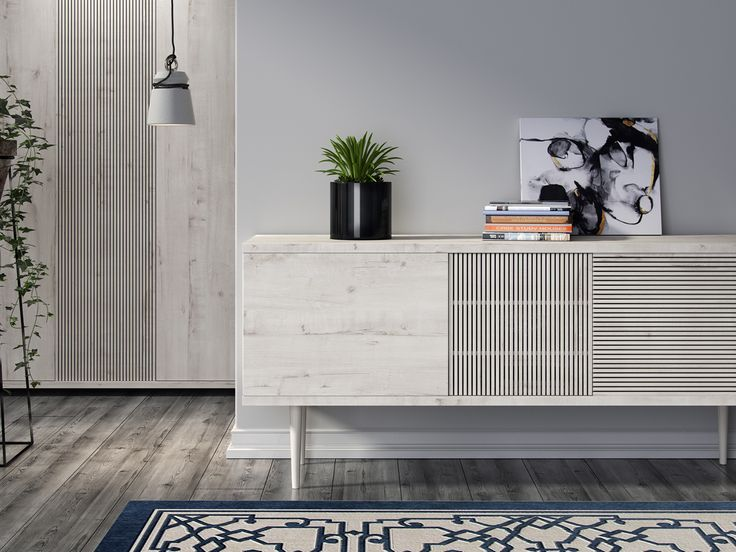 Light oak furniture on Behance