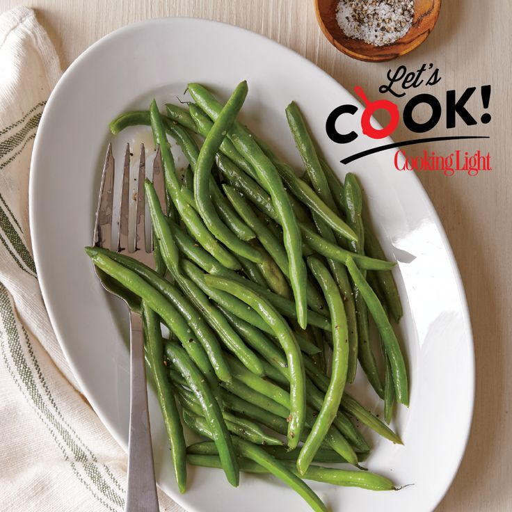 These simple, tendergreen beans are atasty and nutritious complement to any dinner dish.