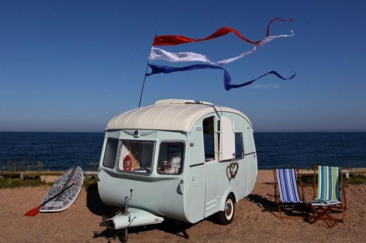 Popular Above Vintage Caravan Style  A Streamlined Vintage Caravan