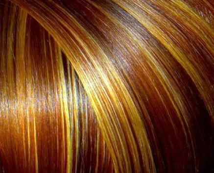 dark red brown hair with blonde highlights 4