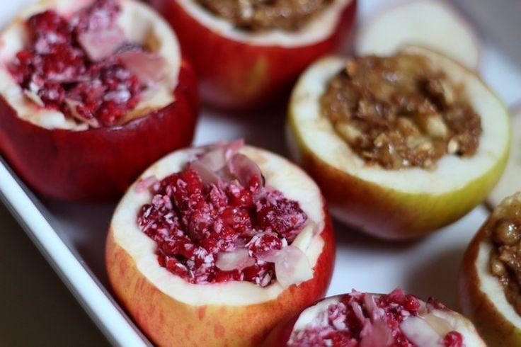 Pieczone jabłka na dwa sposoby