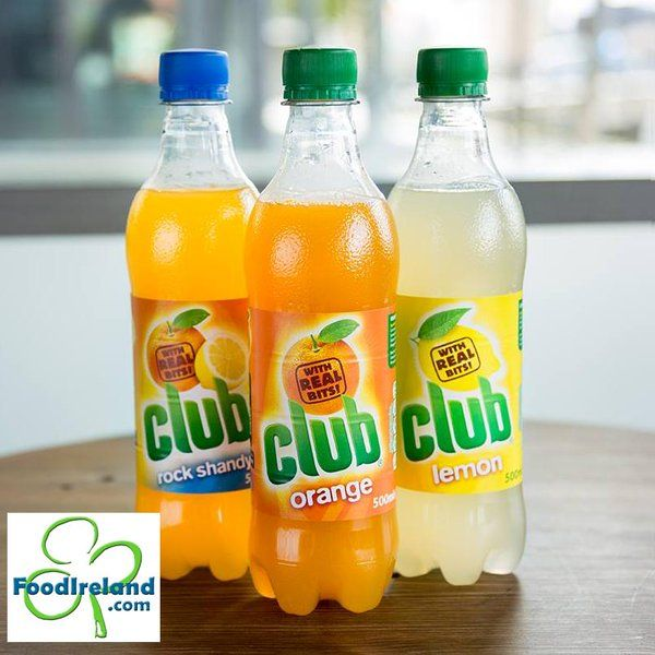 Alleviate any homesickness with Club Orange, Lemon & Rock Shandy  Available in USA!