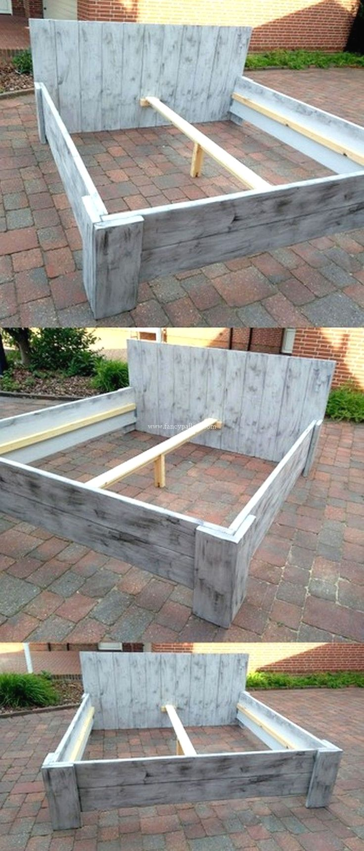 Pin by Hope Zeh on Diy in 2020 Pallet bed frames, Wood