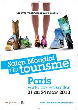 Mondial du tourisme - Paris expo Porte de Versailles 15e - Du 21 au 24 mars