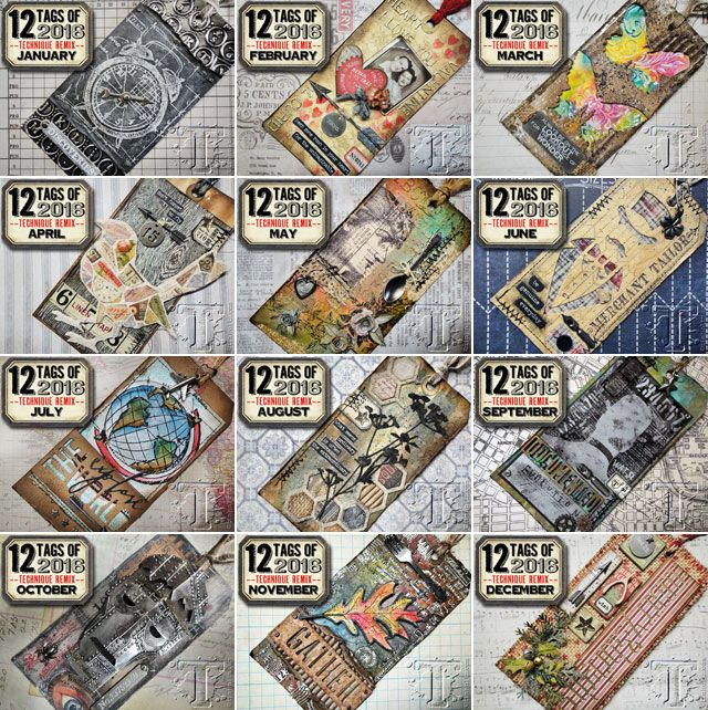 We had such a blast following along with Tim Holtz's 12 Tags of 2016 and can't wait to see all of the amazing projects coming up in 2017!  Don't miss out reading this special note from Tim: