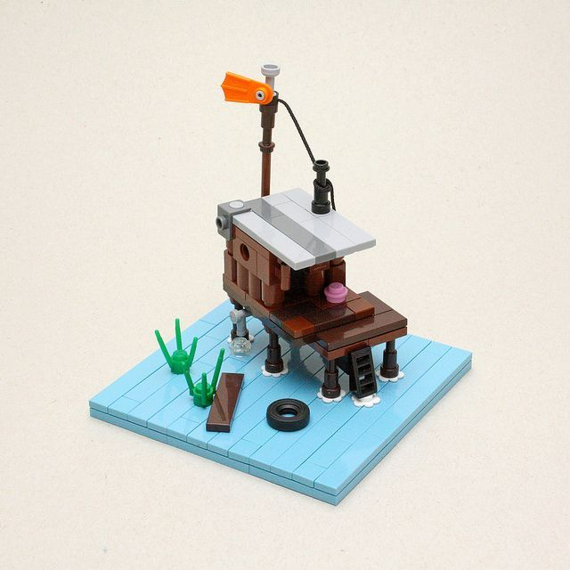 """Lego """"Stranded"""" - accomplishing so much with so little"""