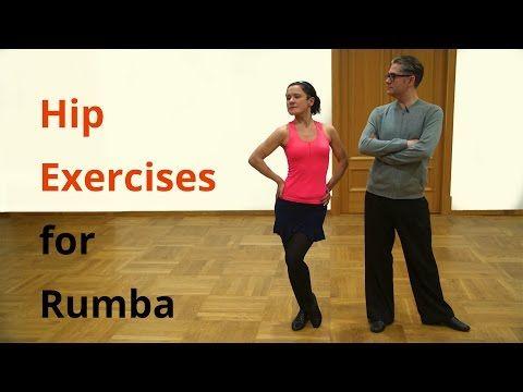 5 Hip Exercises for Rumba / Latin Dancing - YouTube