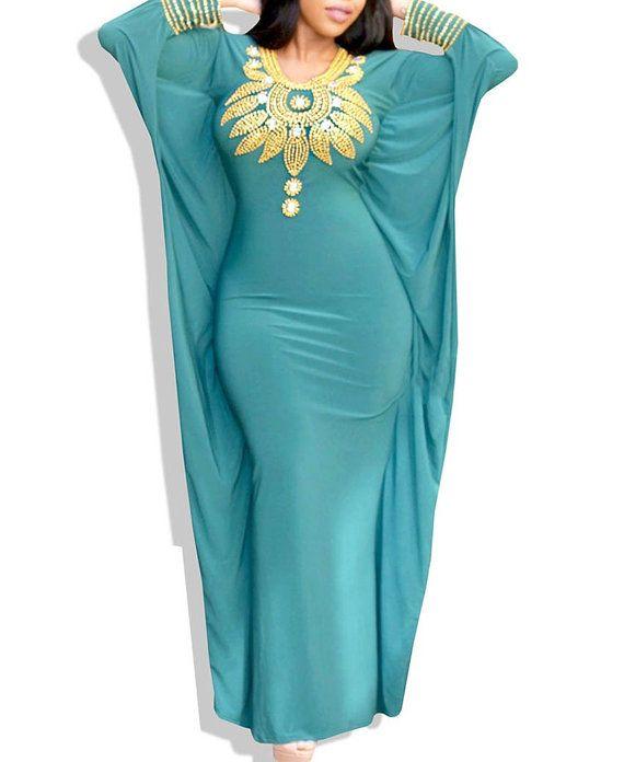 Kaftan Spandex Abaya dress by Dressplus on Etsy