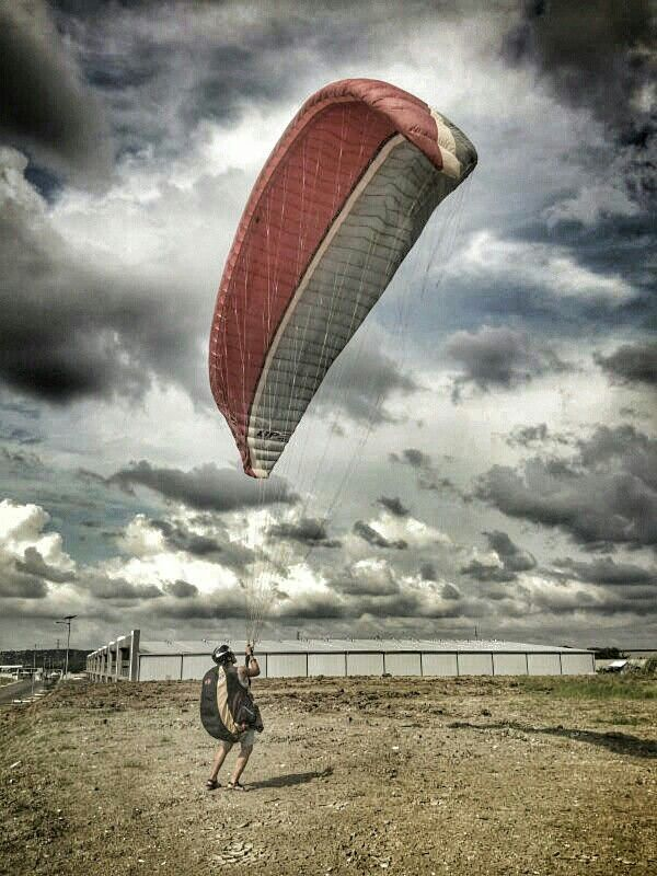 Ground handling #paragliding #karawang #indonesia