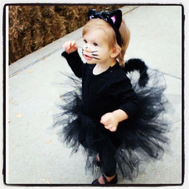 Toddler girl kitten costume!