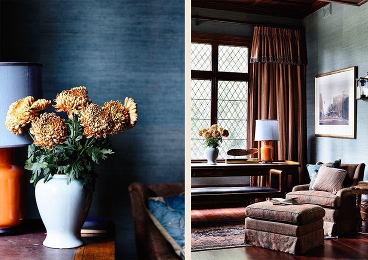 #interiordesign #country #adelaidebragg #design #mtmacedon #wallpaper #livingroom #curtains #wallpaper