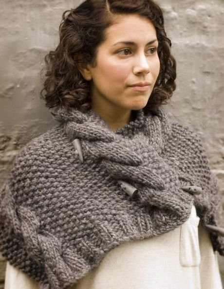 Grey owl cowl. On the list...
