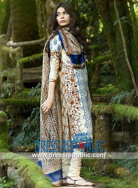 Sana Safinaz Embroidered Lawn 2014 Pakistani Designer Lawn Fabric  Shop the Latest Sana Safinaz Embroidered Lawn 2014