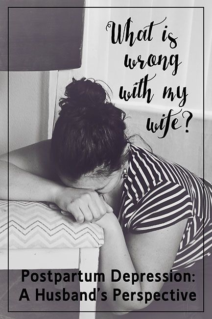 A husband shares with other men how to help their wives come through postpartum depression.