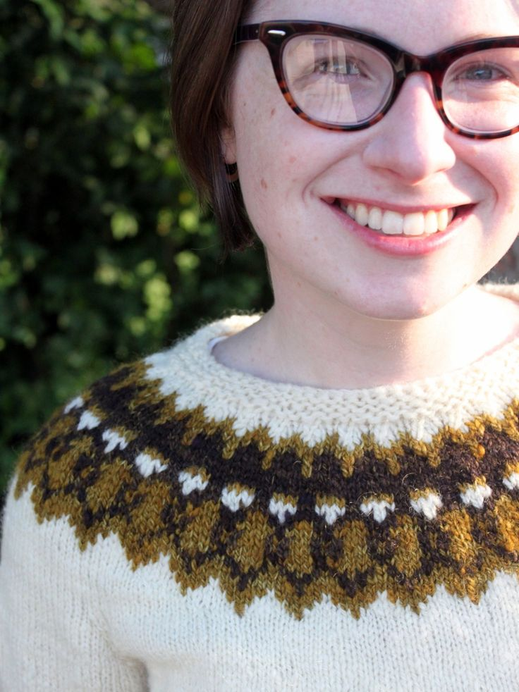I love this sweater and the story behind it! BrineyDeep's Handspun Strokkur — Ysolda