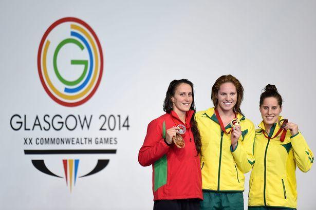 Georgia DAVIES [Silver], [Women's 100m backstroke] Wales