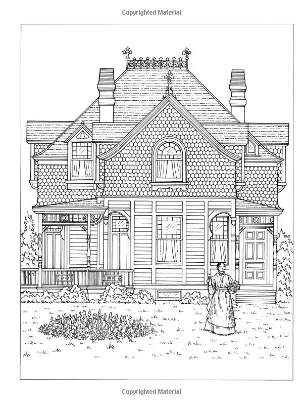 230 best Buildings and Scenes Coloring Pages images on Pinterest ...