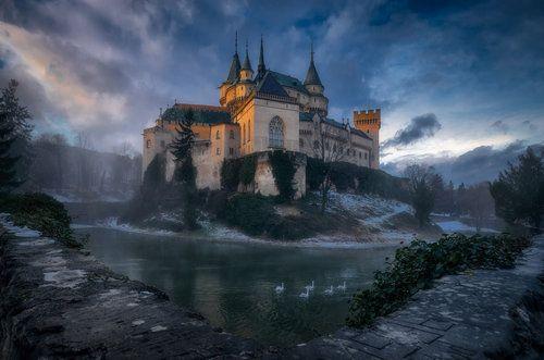 Bojnice Castle by Karol Važan
