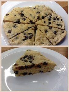 Chocolate scones   Slow cooker