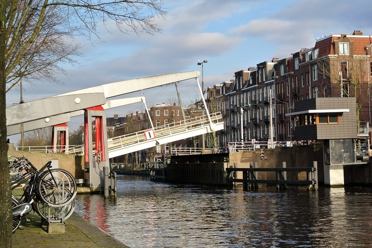 Open bridge in the Zeilstraat, Amsterdam