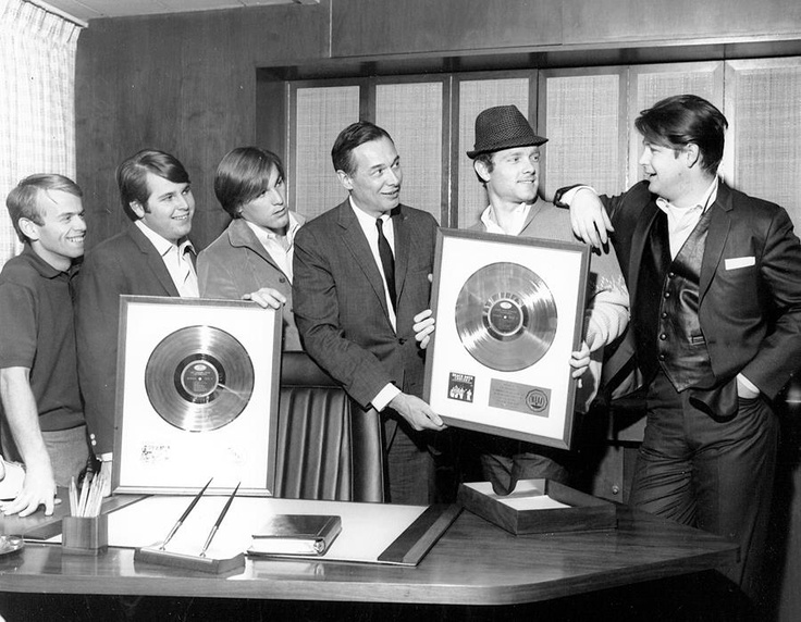 Image result for charles manson beach boys gold album award