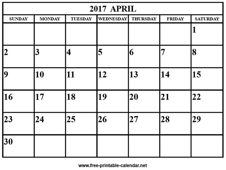 201 best Monthly Printable 2017 calendar images on Pinterest ...