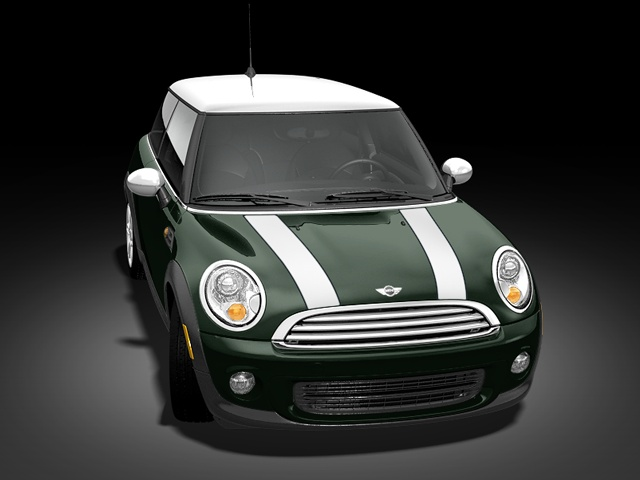 My first mini was a 2004 british racing green with white stripes....MGMM Mean Green Mini Machine!!!  2013 MINI Cooper Hardtop
