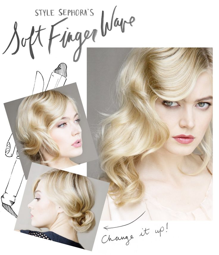 Hairstylist Cindy Viola shows us how to create the perfect finger wave, a new twist on a summer favorite. Read more on the Glossy! #Sephora