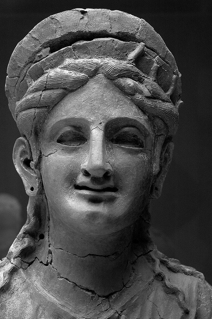 IBERIA - Terracotta Sculpture of a Phoenician Woman Cadiz Museum, Spain by PM Kelly, via Flickr
