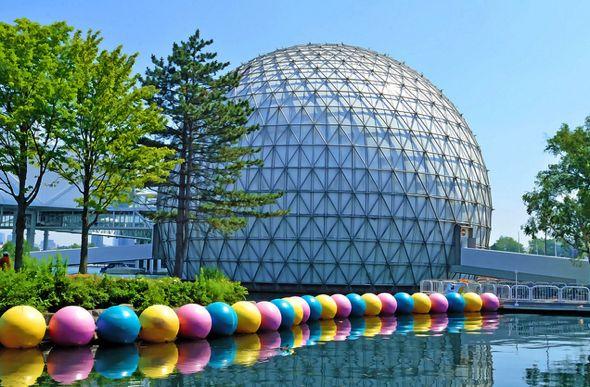 Cinesphere, Ontario Place Toronto, Ontario