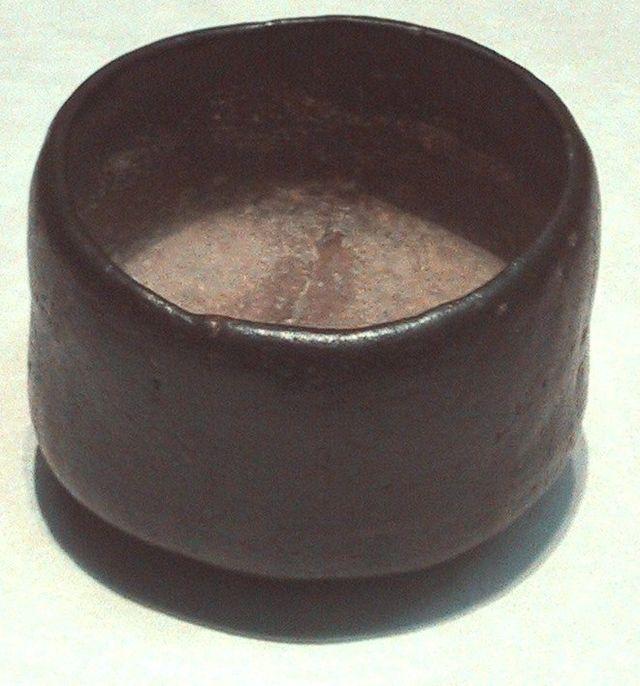 16th century wabi sabi style ceramic cup