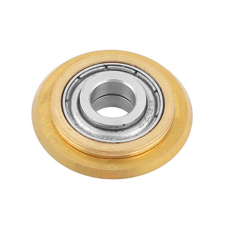 Uxcell общий вес titanium покрытие из карбида вольфрама керамическая плитка режущий диск 22 мм х 6 мм х 6 мм