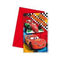 Partyleihkiste.de   CARS Einladungskarten Online Kaufen.