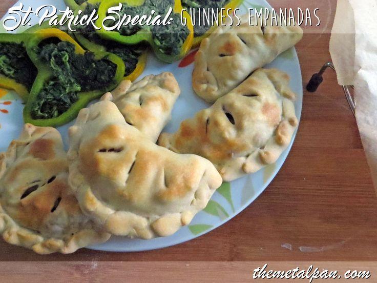 St Patrick Guinness Empanadas