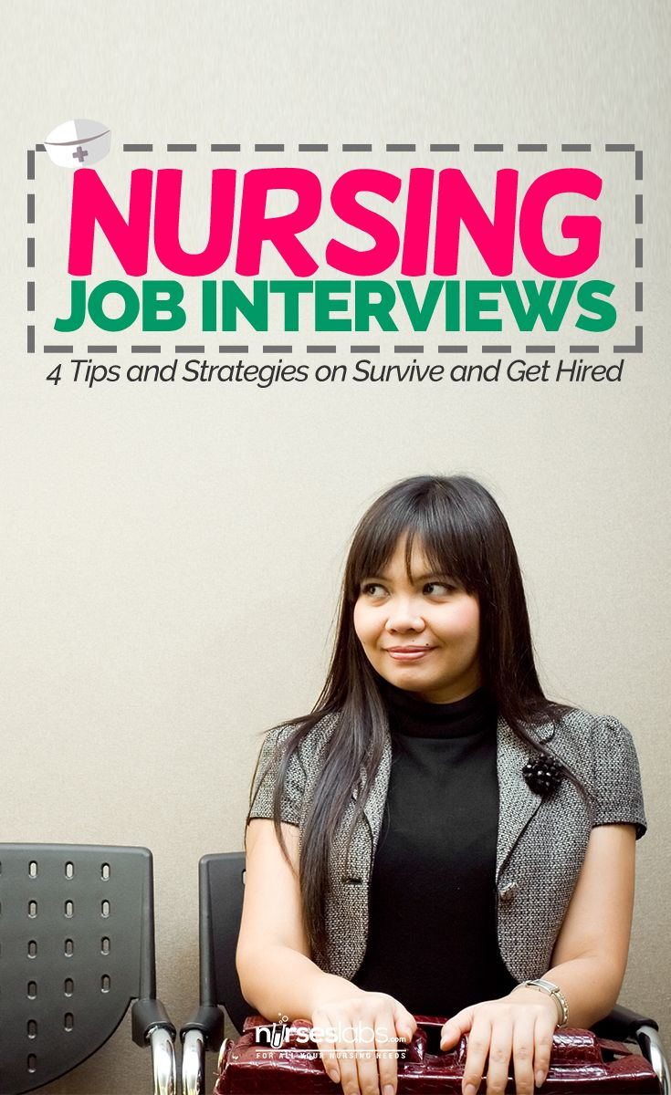 nursing interview Job interviews are not something that most people enjoy and they can be  extremely nerve-racking as much is at stake your interview is the one.