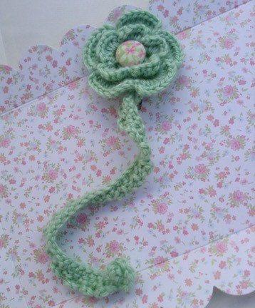 Ganchillo hecho a mano flor chupete clip chupete titular