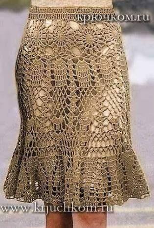 Resultado de imagem para vestidos de croche com grafico