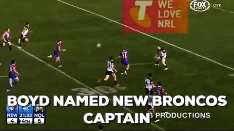 The Brisbane Broncos today announced that Darius Boyd will take on club captaincy honours for NRL season 2017.  Boyd's promotion escalates him into an esteemed company of Broncos leaders, which includes Wally Lewis and Darren Lockyer, and more recent teammates Sam Thaiday, Justin Hodges and Corey Parker.