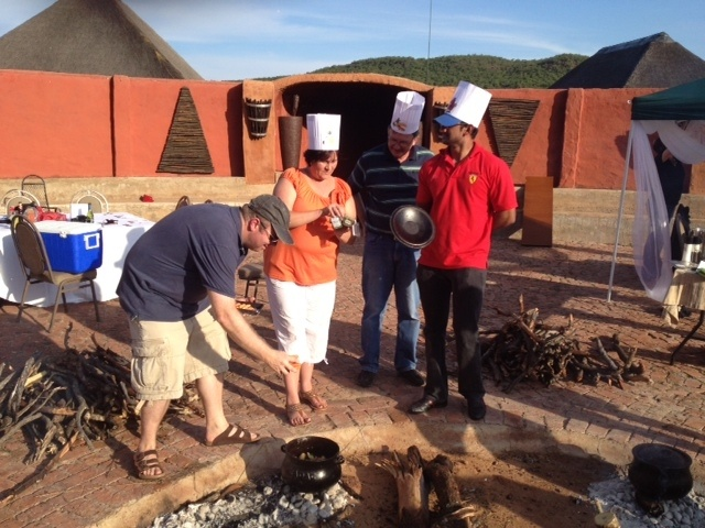 This Momentum team is competing agains the other teams that are also participating in the Potjie Competition. Go team go!!