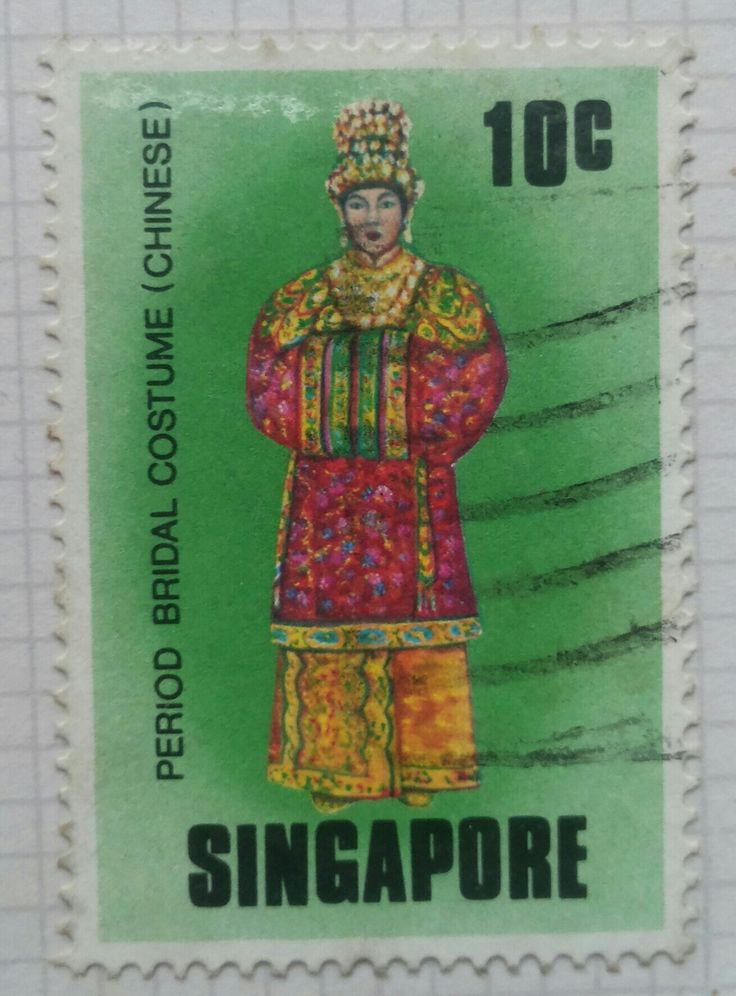 Stamp of Singapore PERIOD BRIDAL COSTUME ( CHINESE )